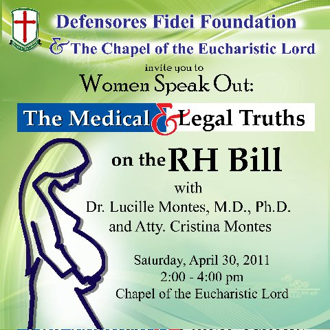 Medical and Legal Truth on Reproductive Health Bill