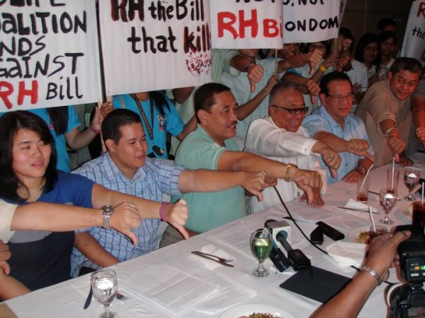 No to RH Bill