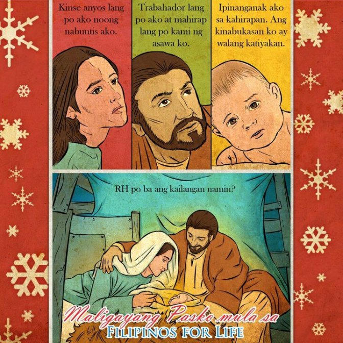 A Christmas Pro-Life Message from Filipinos for Life